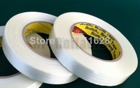 Wholesale 1x mm M M Adhesive Fiberglass Tape High Tensile Strength for Industry Electric Wood Metal Panel Heavy Box Pack Fasten