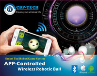 Wholesale 2014 new gadget app control robotic ball remote controlled ball for iOS android device
