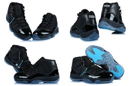 Wholesale 7 Different Colors High Quality Retro XI Gamma Blue Men s Basketball Sport Footwear Sneakers Trainers Shoes Size