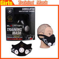 Cheap TOP Simulate ELEVATION 2.0 TRAINING MASK SIZE M (150 - 250lbs)-mma Fitness High Altitude Outdoor Sports Exercise Supplies Soccer Yoga Trikke