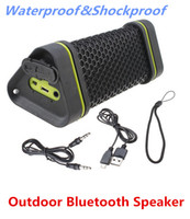4.1 Universal HiFi Hot Sale On Eaby - Outdoor Waterproof Shockproof Wireless Stereo Bluetooth Speaker For ipod iphone Samsung HTC cellphone Free Shipping