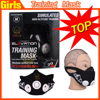 Wholesale ELEVATION TRAINING MASK Simulates High Altitude Training SIZE M lbs mma fitness Exercise Supplies Sport Mark Hot Men Sport
