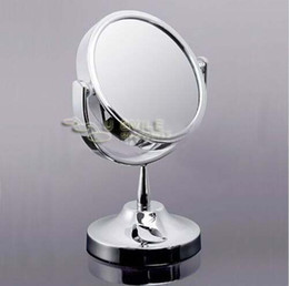 Wholesale Beauty Makeup Cosmetic Mirror Double Sided Normal and Magnifying Stand Mirror T01