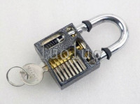Wholesale Practice Padlock Lock training Skill Pick For Locksmith Beginner