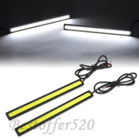 12V 2001 2002 2003 2004 2005 2006 2007 2008  Fog light driving lamp for SUV truck pic 170MM X 17MM PAIR UNIVERSAL FIT 2X 6W AUTO CAR WHITE DRL DAYTIME RUNNING LIGHT FRONT BUMPER GRILLE FOG LAMP FOR TRUCK SUV 12V