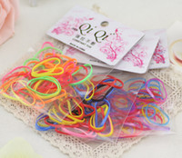 Hair Rubber Bands Mixed color Asian & East Indian Hair Accessories 2014 High elastic Rubber Band bags Strong pull continuously hair rope Hair Rope act the Role ofing is Tasted