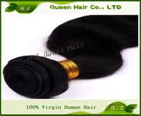 Wholesale body wave grade A Brazilian Virgin Hair piece Unprocessed Human Hair extension Weaves mixed length price