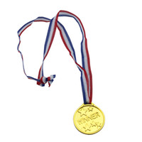 Wholesale Toy MEDALS Plastic gold medal Party supplies toys for children