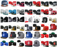Wholesale Many styles hip hop caps snapback hats adjustable Snap back caps baseball basketball football hats Unisex Cap snapbacks