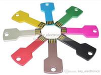 Wholesale DHgate GB swivel custom USB Flash Memory Pen Drives Sticks Disks Discs U Pendrives Thumbdrives Gold package