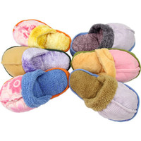 Wholesale Hot Dog Toy Pet Puppy Chew Play Squeaker Squeaky Sound Cute Plush Slipper Shape