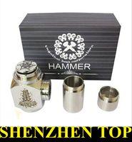 Battery Set Series Red Hammer E Pipe Mod Kit E cig Mechanical E-Pipe Mod E Cigarette for CE4 CE5 Atomizer