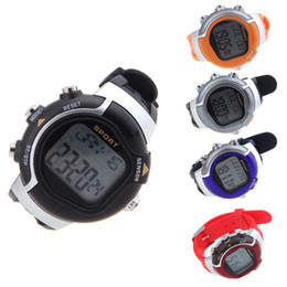 Wholesale Men Women Dress Watches Colors Irregular Monitor Pulse Wristwatches Heart Rate Calorie Counter Exercise Sport Watch H10514