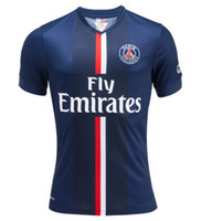 Wholesale Paris Saint Germain PSG Home Soccer Jersey Thailand Soccer Jerseys for Men Team New Jersey Customize Football Shirts Best Soccer Kit
