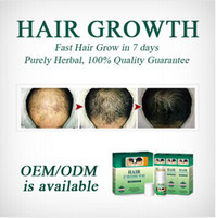 Wholesale Chinese Herbal Yuda Treatment Of Alopecia Days Men Hair Regrowth Hair Thickener Anti Hair LossTreatment Products ml