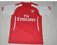 Soccer Men Short Arsenal 14-15 Home Soccer Jerseys Thai Quality Red Jerseys for Cheap Club Team Soccer Jersey Top Best Soccer Uniforms Football Shirt Kits