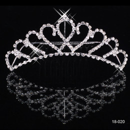 Wholesale New Shining Rhinestone Crown Wedding Prom Party Girls Bride Tiaras Fashion Crowns