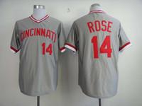 fashion baseball jerseys - Rose Fashion Baseball Jerseys Reds Discount Baseball Wears Brand Well Stitch Outdoor Uniform New Collection in Stock