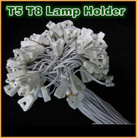 abs fittings - T8 T5 Tube Lamp Holder Socket Fittings with Cables lightbox lamp line cables lamp holder lamp horn line lamp crural line
