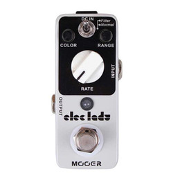 Wholesale Mooer Eleclady Analog Flanger Pedal Classic analog flanger sound with filter mode and oscillator effects Full metal shell True bypass MU0343