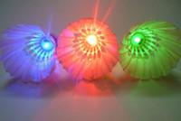 Wholesale LED Badminton Shuttlecock Dark Night Glow Birdies Lighting Indoor Sports Flash Colors
