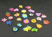 Charm Bracelets DIY Children's 100pc Best Price DIY Rainbow DIY Loom Bands Charms Beads Loom Bracelet Charms Christmas Gift 100PCS LOT M103