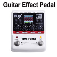 Wholesale NUX TIME FORCE Guitar Effect Pedal Multi Digital Delay Delay Effects I253