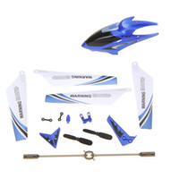 Wholesale Syma Full Remote Control Toys Replacement Parts Set Quadcopter Spare Kit Head Cover Blades Propellers for S107G RC Helicopter RM309