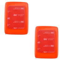 red camera - 10pcs Camera Floaty Float Box with M Adhesive Anti Sink for GoPro HD Hero Red ST D1021