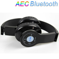 Wholesale AEC Wireless Stereo Bluetooth Headphone Headset for Mobile Cellphone Laptop PC Tablet FM TF Micro SD Slot V574