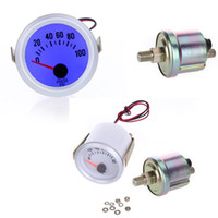 Precio de Pressure sensor-Manómetro de aceite del medidor de aceite con el sensor para el coche auto 2