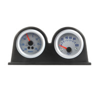 auto meter gauge pod - Double Dual Auto Car Gauge Meter Pod Holder Cup Mount quot mm K1041