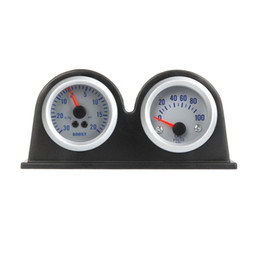 Wholesale Double Dual Auto Car Gauge Meter Pod Holder Cup Mount quot mm K1041