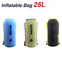Wholesale 3 Colors Outdoor Waterproof Bag Drifting Dry Bag Kayak Canoe Rafting Camping Yellow Blue Green H10371