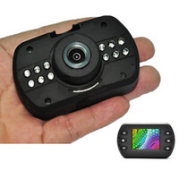 Wholesale Full HD P DK620 Vehicle Car DVR Camera Recorder Novatek Mini Size G sensor IR Night Vision Motion Detection Lens Angle K1156