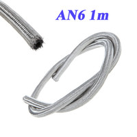 Fittings fuel - AN6 Braided Stainless Steel Fuel Oil Line Hose m in K956