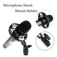 Wholesale Broadcasting Studio Microphone Desktop Shock Mount Holder Professional Studio Shock Can Support Large Diaphragm Condenser Microphones I259