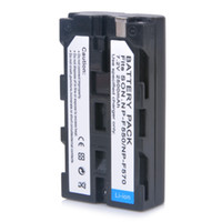Wholesale 2014 New Digital Camera mAh NP F550 Camcorder Battery for Sony NP F330 NP F530 NP F570 NP F730 NP F750 Hi D1078
