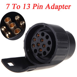 Wholesale Tirol To Pin Adapter Trailer Socket Connector V Caravan Truck Towbar Towing Electrical Converter N Type Plastic K1193
