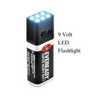 Wholesale Blocklite Ultra Bright Volt LED Flashlight Torch Camping Fishing Light Lanterna Mini Compact Size Waterproof Lamp H10734