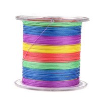 Wholesale 2014 NEW Pesca M LB mm Dyneema Fishing Line Strong Braided Strands for Shimano Rod Carp Fishing Multicolour H10842
