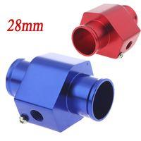 Wholesale Water Temp Temperature Joint Pipe mm Sensor Water Temp Gauge Radiator Hose Adapter mm Blue Red K1212