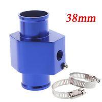 Wholesale Water Temp Temperature Joint Pipe mm Sensor Water Temp Gauge Radiator Hose Adapter mm Blue K1211BL