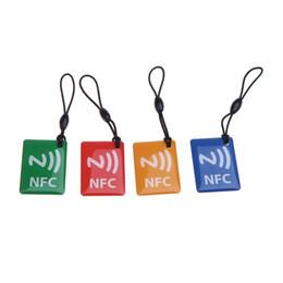 Wholesale NFC Smart Tags Ntag203 Chip for Sony Xperia Nexus Nexus Samsung Galaxy S5 S4 Note III Nokia Lumia PA1621
