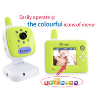 Wholesale iCore quot Digital Video Baby Monitor Phone with Wireless Camera Baba Eletronica Com Video Monitors CE Electronic Angelsounds H10737