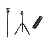 beike carbon tripod - BEIKE BK C Professional Carbon Fiber Tripod Monopod Ball Head for SLR Portable Camera Traveling Changeable Max Loading Kg D1116