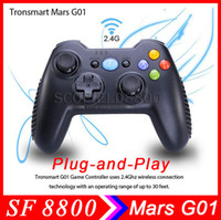 Wholesale Tronsmart Mars G01 G Wireless Gamepad Support Controller Android Cell Phone PS3 Tablet PC MINI PC Android tv box