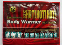 Wholesale 18 High Quality heat patch body warmer heating pad Drop Shipping