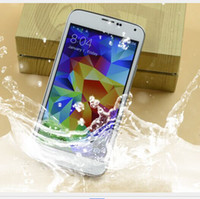 Wholesale Remote Control S5 MTK6592 S5 quot IPS Screen Health Care Waterproof Octa Core MP Camera G Smart Remote Android Kit Kat Cell Phones