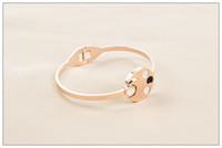 HOT sale Rose Gold Women Bracelets, titanium steel bracelet,...
